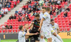 Piłka nożna: GKS ratuje trzy punkty w doliczonym czasie gry. GKS Tychy - Wigry Suwałki 2:1 [foto]