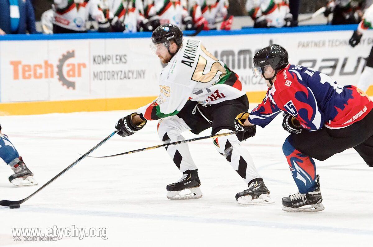 Hokej: Denis Akimoto odchodzi z GKS Tychy