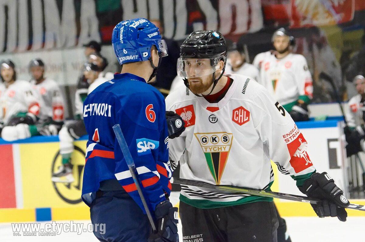 """Hokej CHL: """"Było nas stać na zwycięstwo"""". GKS Tychy przegrywa w dogrywce z Alder Mannheim [foto]"""
