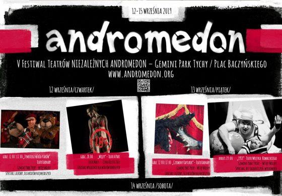 Andromedon V – Tyski Festiwal Teatrów Niezależnych – Dzień 3
