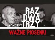 Koncert Raz Dwa Trzy w Teatrze Małym