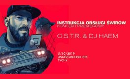 OSTR w Underground - Koncert Premierowy - Instrukcja Obsługi Świrów
