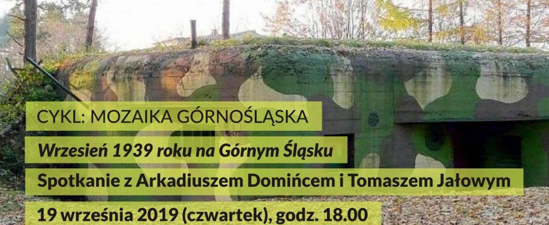 Mozaika Górnośląska – Wrzesień 1939 roku na Górnym Śląsku w Muzeum Miejskim