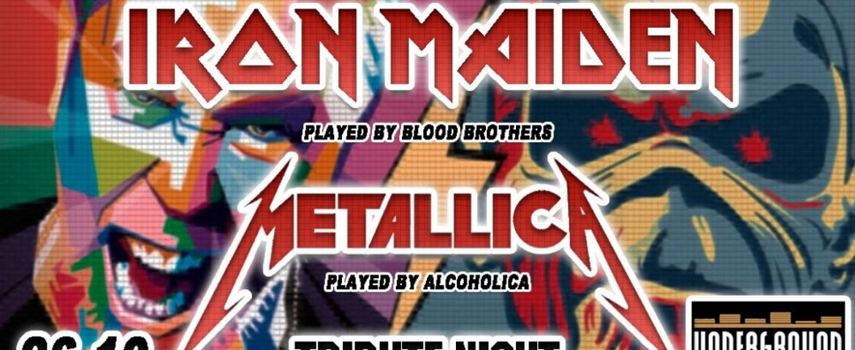 Tribute Night: Iron Maiden & Metallica w Underground