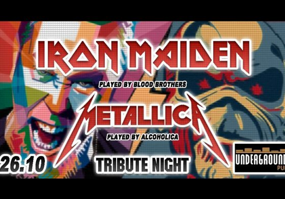 Tribute Night: Iron Maiden & Metallica w Underground