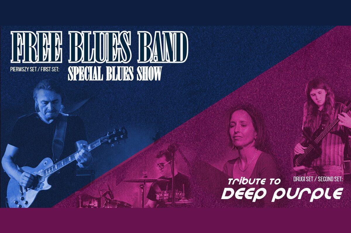 Free Blues Band w Riedel Music Club