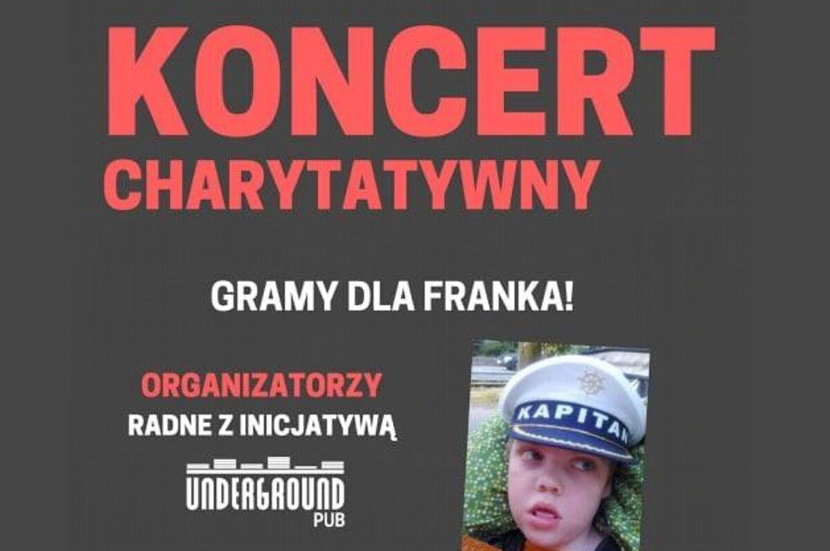 Koncert charytatywny – Gramy dla Franka w Underground Pub