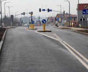 Nowy wjazd do centrum miasta gotowy