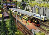 Gigantyczna makieta kolejowa w Gemini Park Tychy