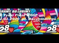 28. Tyski Finał Wielkiej Orkiestry Świątecznej Pomocy na placu Baczyńskiego