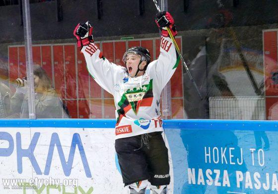 Hokej play-off: GKS Tychy jedną nogą w półfinale