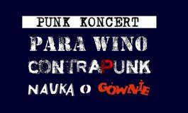 Para Wino & NOG & Contrapunk w Underground Pub