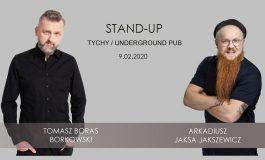 Stand-up - Tomasz Boras Borkowski & Jaksa Jakszewicz w Underground Pub