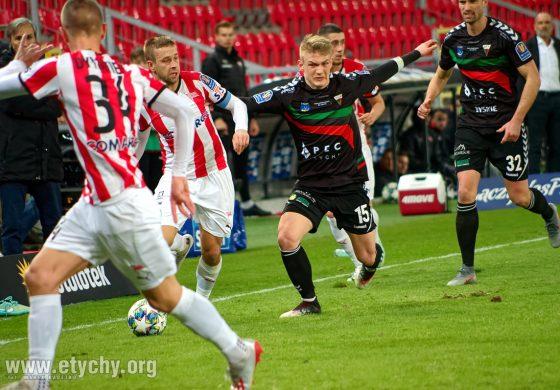Piłka nożna Puchar Polski: GKS Tychy - Cracovia (2020.03.10) [galeria]