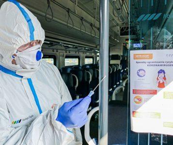 Nowa broń Kolei Śląskich w walce z koronawirusem