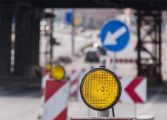 Zamknięty przejazd kolejowy na ul. Malinowej