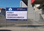 Zamknięcie miejskich punktów szczepień na stadionie i hali sportowej