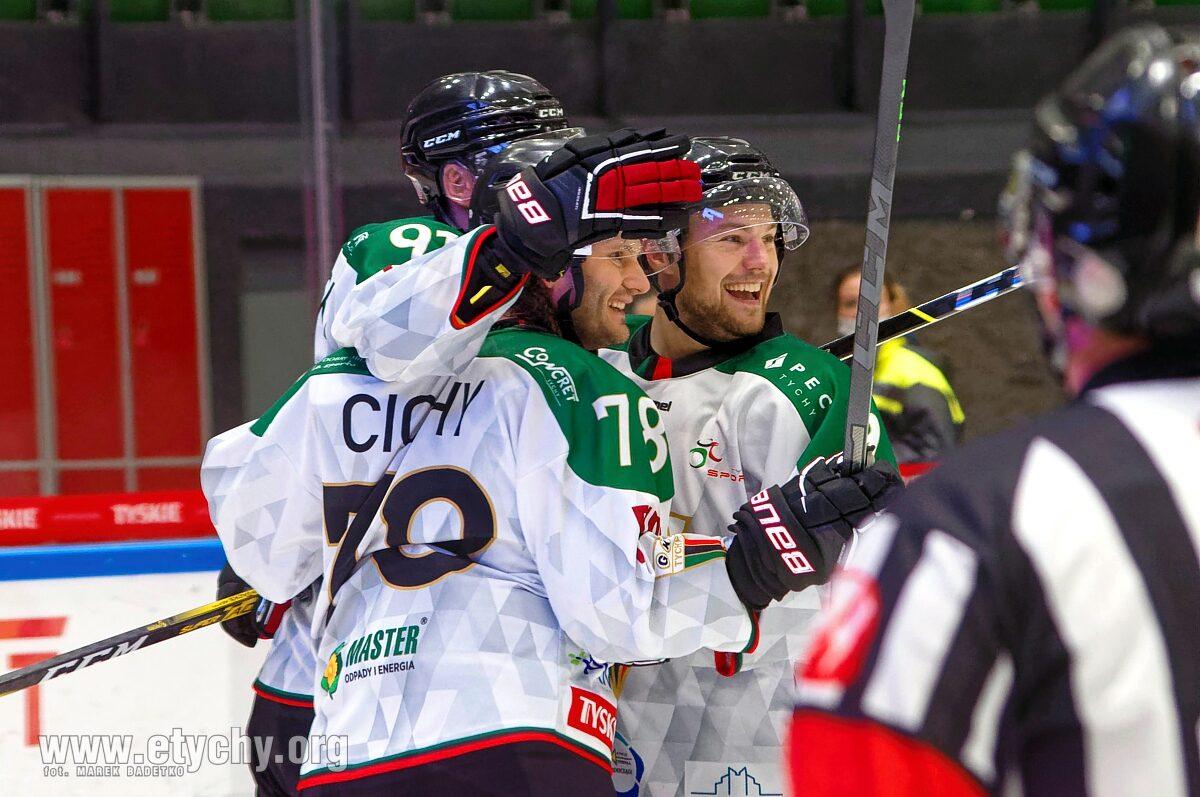 Hokej: GKS Tychy – Ciarko STS Sanok (2021.10.08) [galeria]