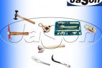 Narzędzia blacharskie, Blacharstwo - solidne rozwiertaki, babki, nożyce
