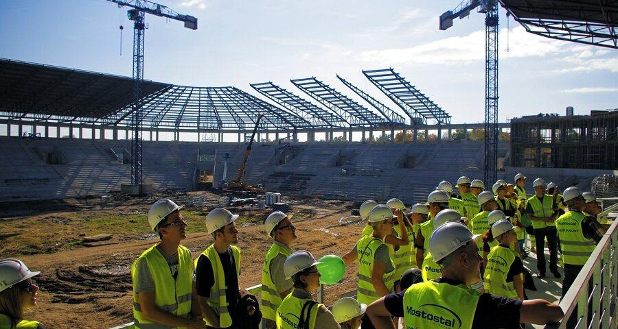 Budowa Stadionu Miejskiego Tychy [GALERIA]