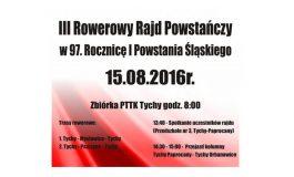 Obchody 97. Rocznicy Wybuchu I Powstania Śląskiego - Rowerowy Rajd Powstańczy