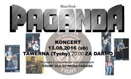 Koncert charytatywny Paganda w Tawernie
