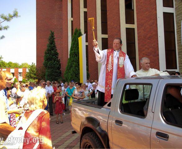 Święcenie pojazdów 2021 w parafii św. Krzysztofa