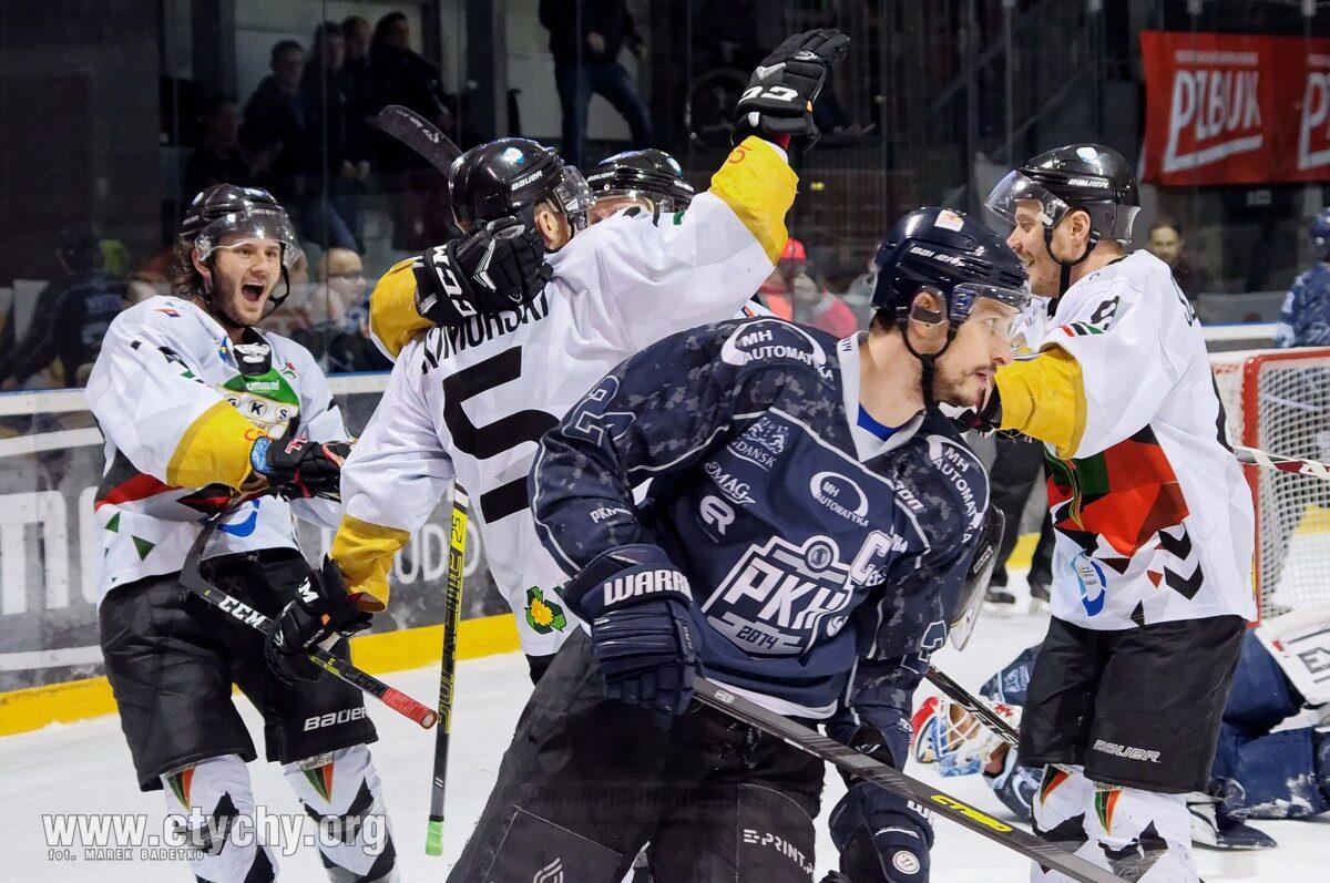 Hokej play-off: GKS Tychy – MH Automatyka Gdańsk (2019.03.06) [galeria]