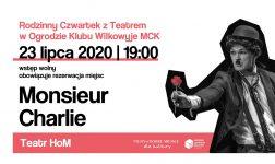 """Rodzinny Czwartek z Teatrem w Wilkowyjach - """"Monsieur Charlie"""""""
