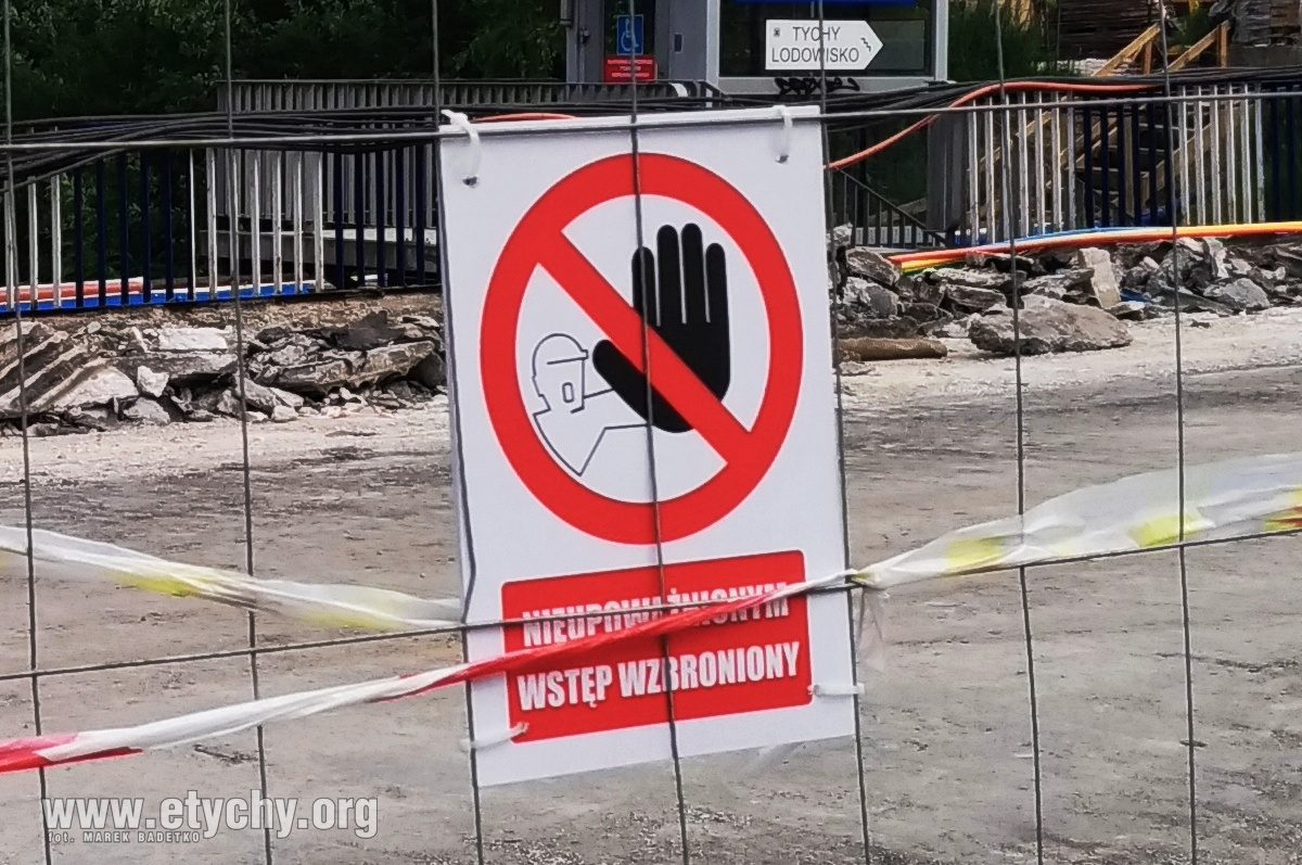 Rozbiórka wiaduktu na ul. Grota-Roweckiego – zamknięcie ruchu pieszego